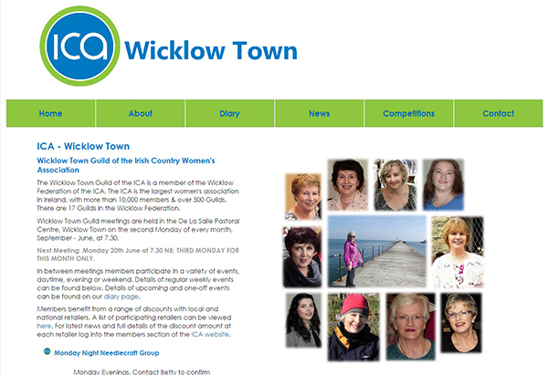 ICA Wicklow Town Guild Home Page
